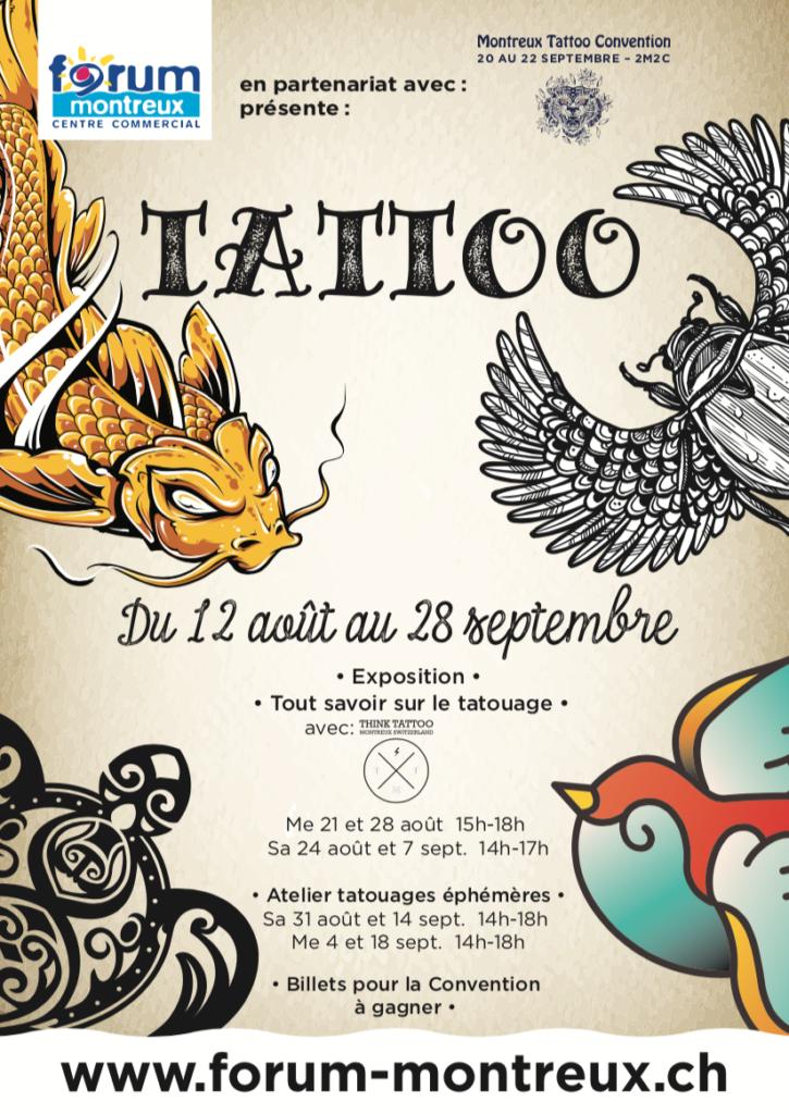 Tattoo – Vivez au rythme du tattoo avec la Montreux Tattoo Convention