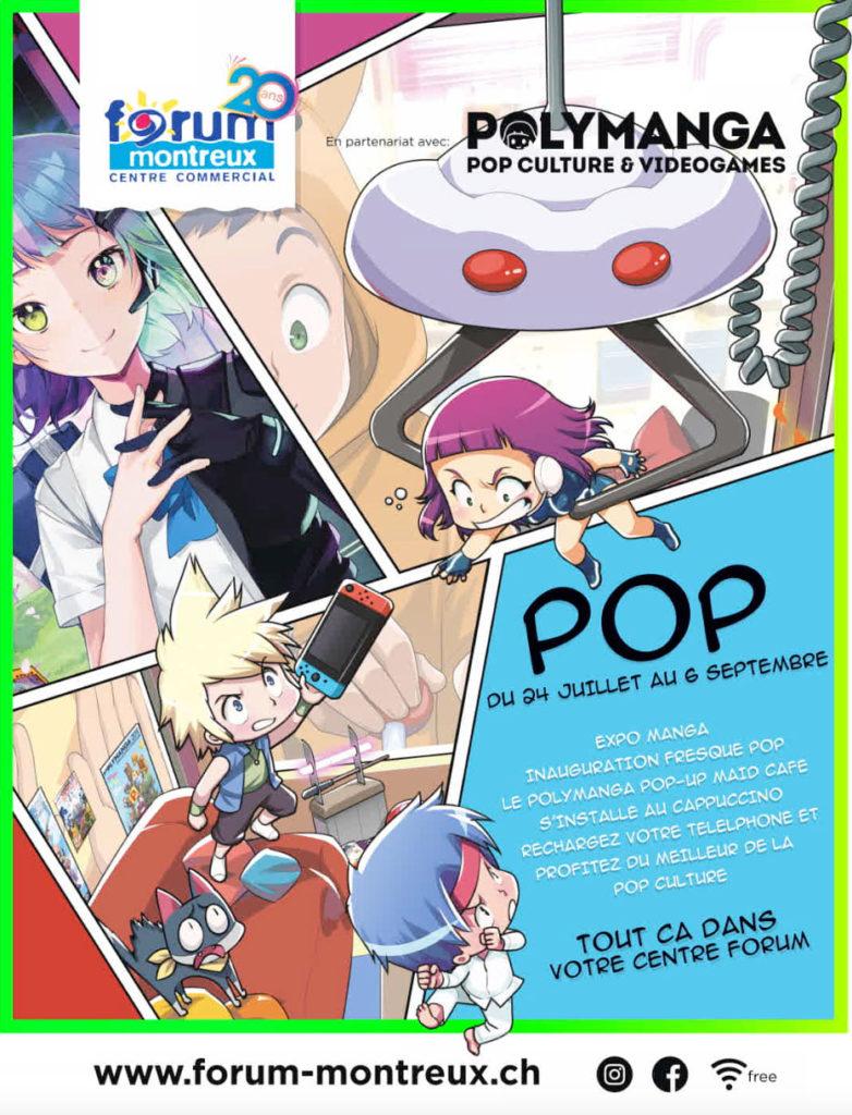 POP en partenariat avec Polymanga